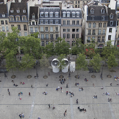 Place Georges Pompidou, Paris